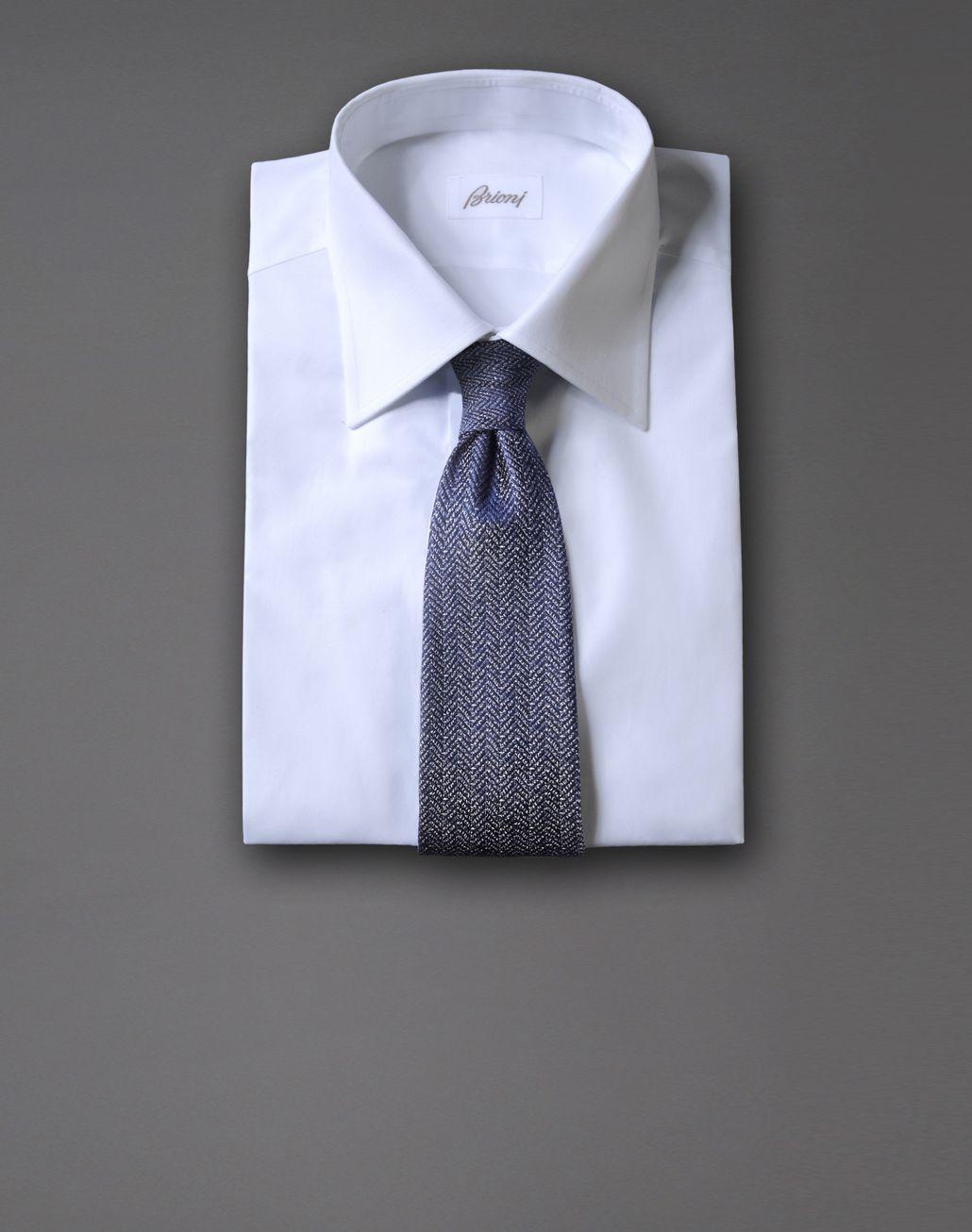 BRIONI tie with micro design Tie & Pocket Square Man r