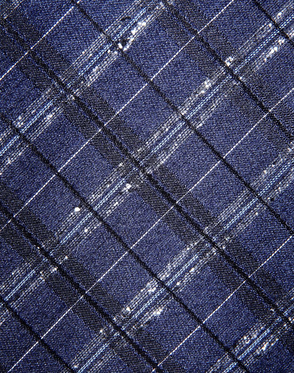 BRIONI macro-check tie Tie & Pocket Square Man e