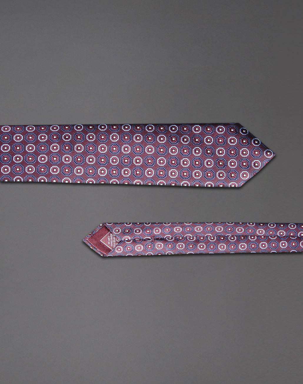 BRIONI tie with medallion motif Tie & Pocket Square Man d