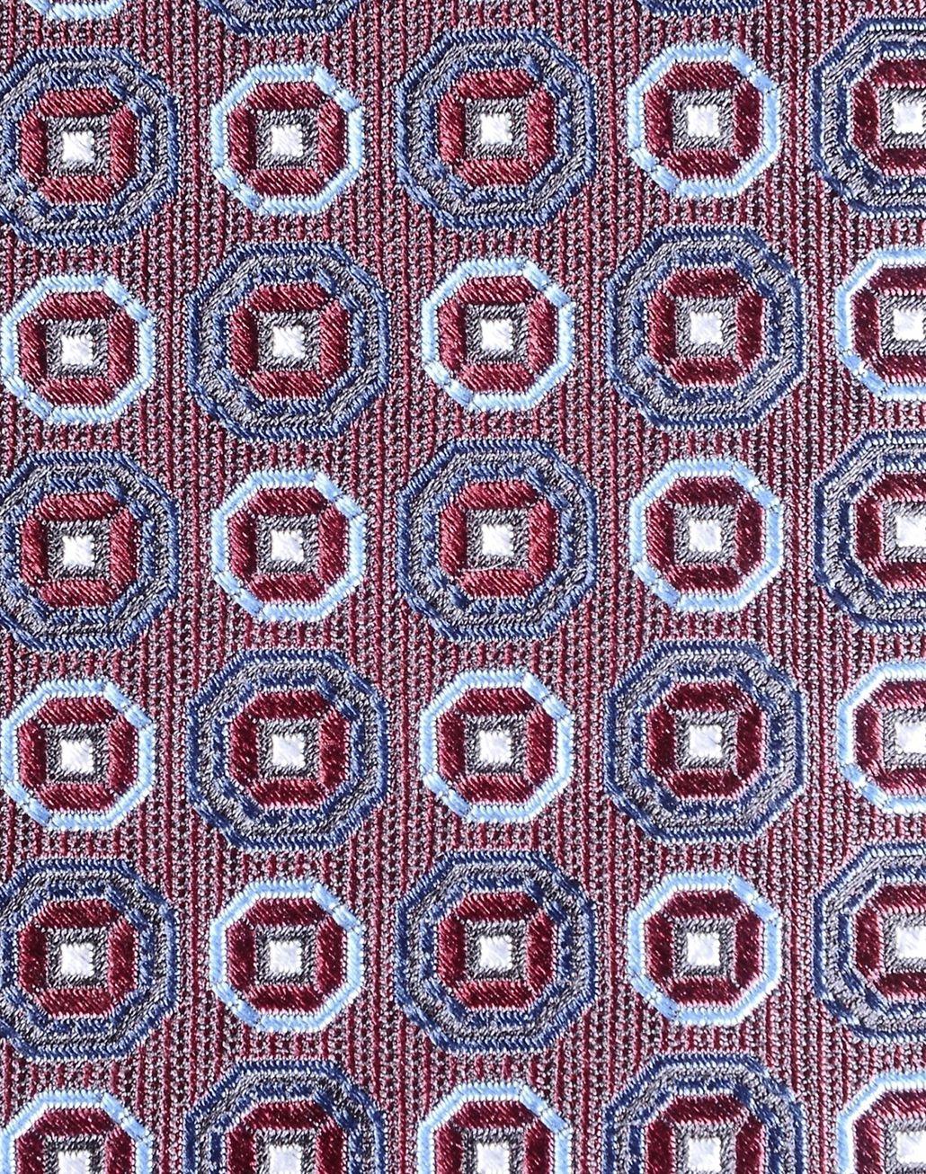 BRIONI tie with medallion motif Tie & Pocket Square Man e