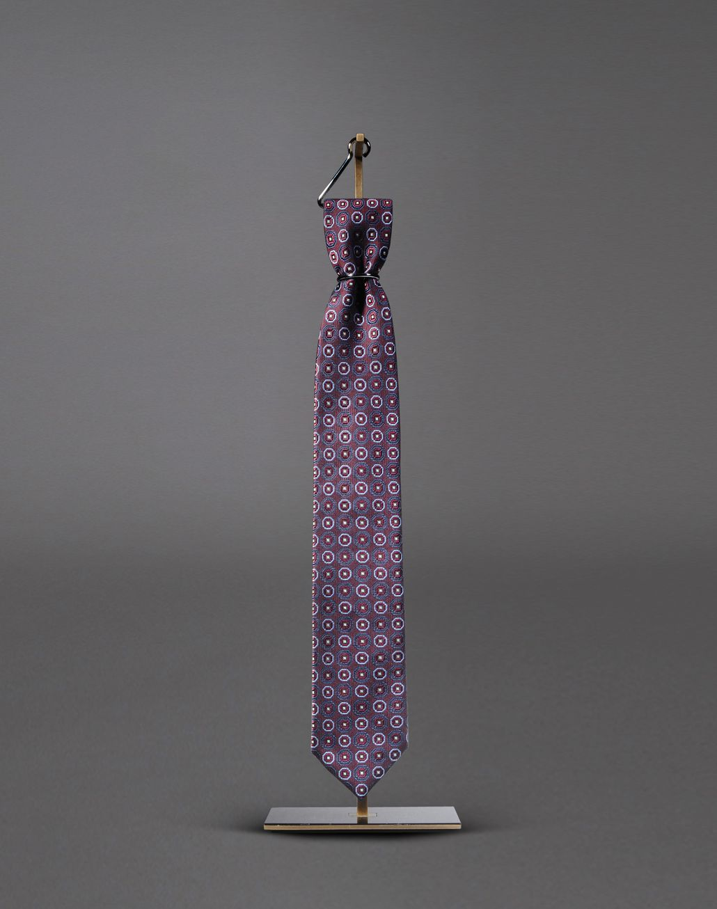 BRIONI tie with medallion motif Tie & Pocket Square Man f