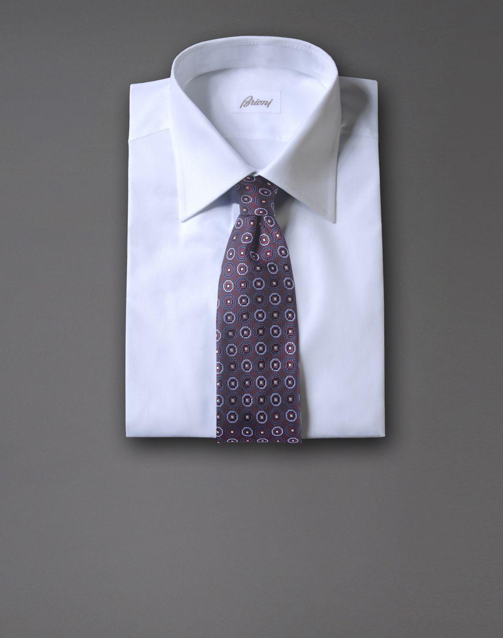 BRIONI tie with medallion motif Tie & Pocket Square Man r