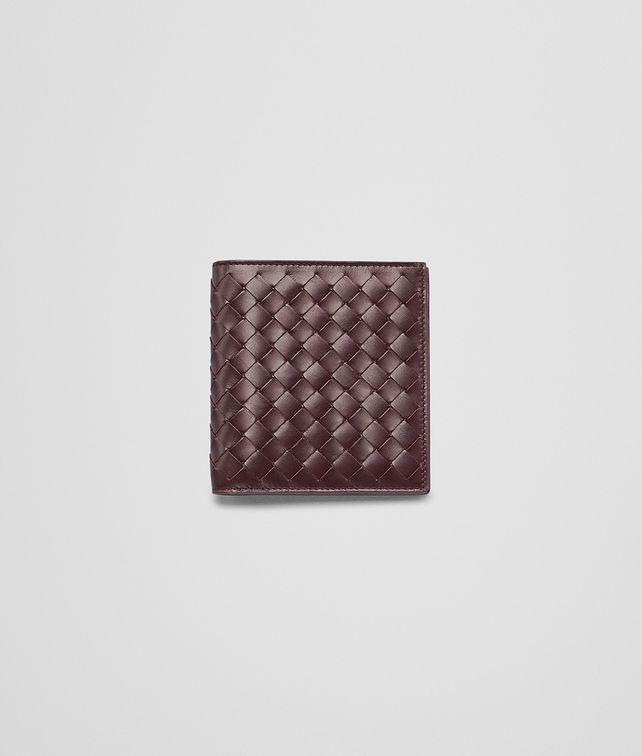 BOTTEGA VENETA Aubergine Intrecciato Vn Wallet Bi-fold Wallet U fp