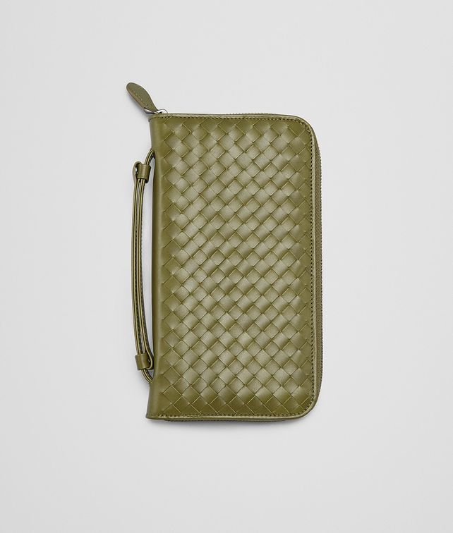 BOTTEGA VENETA NEW ARMY INTRECCIATO VN DOCUMENT CASE Zip Around Wallet E fp