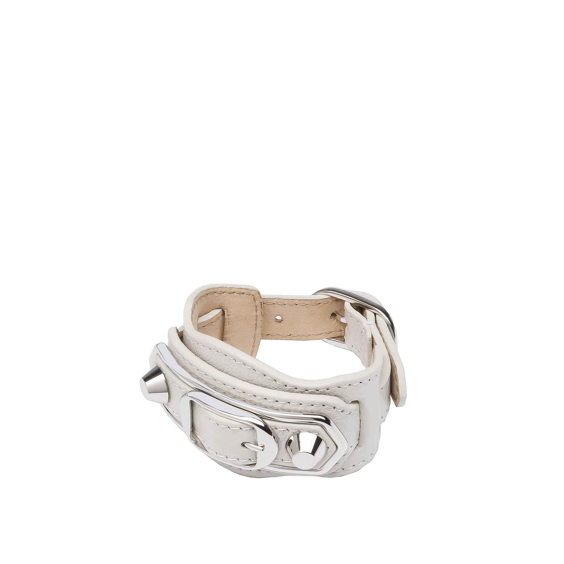 BALENCIAGA Balenciaga Classic Metallic Edge Bracelet Bracelet D f