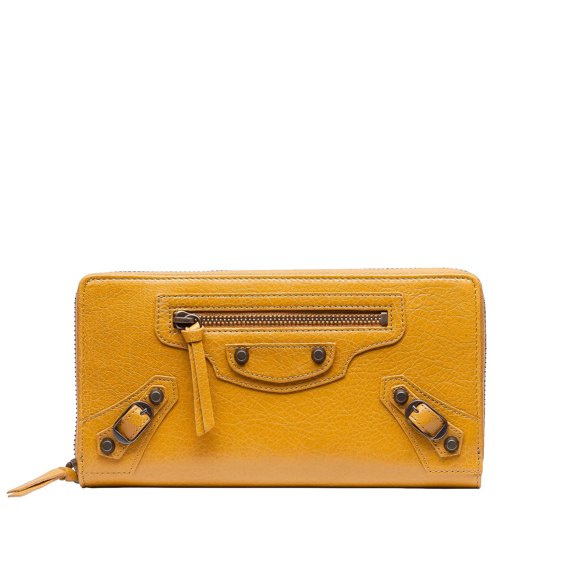 BALENCIAGA Balenciaga Classic Continental Zip Around Wallet D f