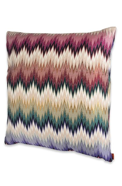 MISSONI HOME PHRAE CUSHION Light purple E - Back