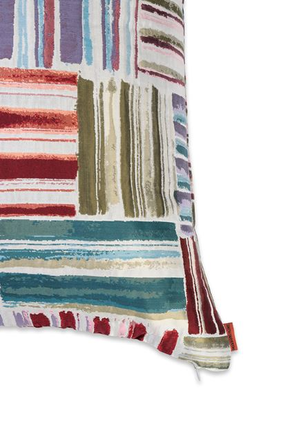 MISSONI HOME PALENQUE CUSHION Military green E - Front