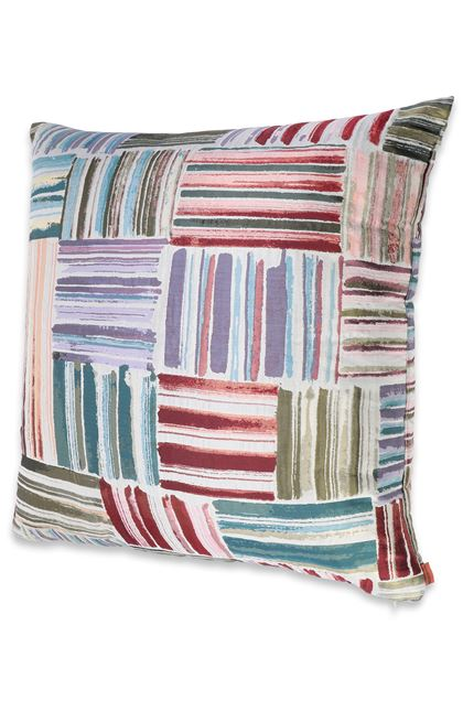 MISSONI HOME PALENQUE CUSHION Military green E - Back
