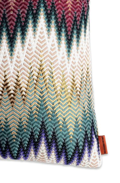 MISSONI HOME PHRAE CUSHION Light purple E - Front