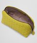 BOTTEGA VENETA BEAUTY CASE NEW CHARTREUSE IN NAPPA INTRECCIATA Altro accessorio in pelle D ap