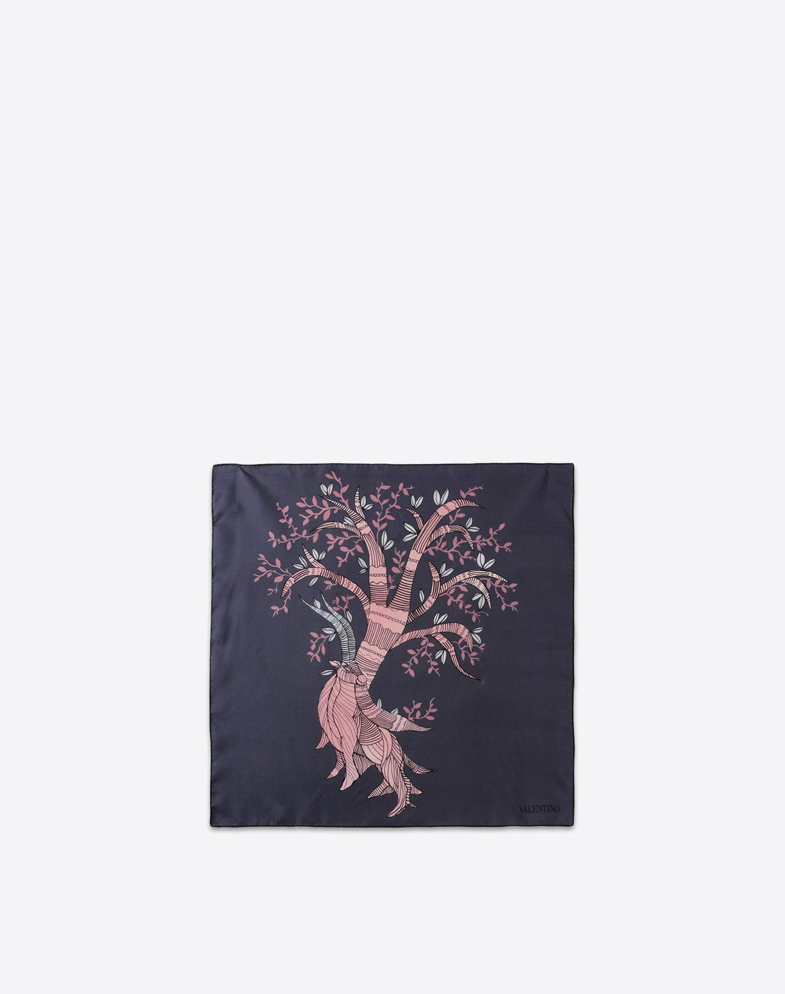 VALENTINO Logo detail Cotton twill Multicolor Pattern  46359792le