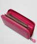 BOTTEGA VENETA ZIP AROUND WALLET IN ROSA SHOCK CROCODILE Zip Around Wallet D ap