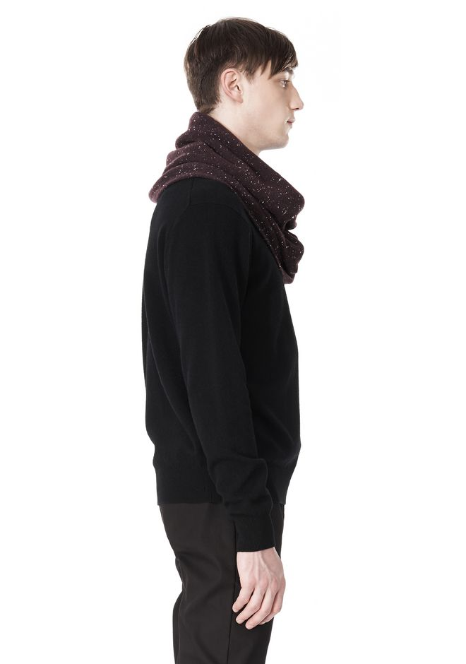 ALEXANDER WANG CASHMERE DONEGAL ENDLESS SCARF Scarf & Hat Adult 12_n_d