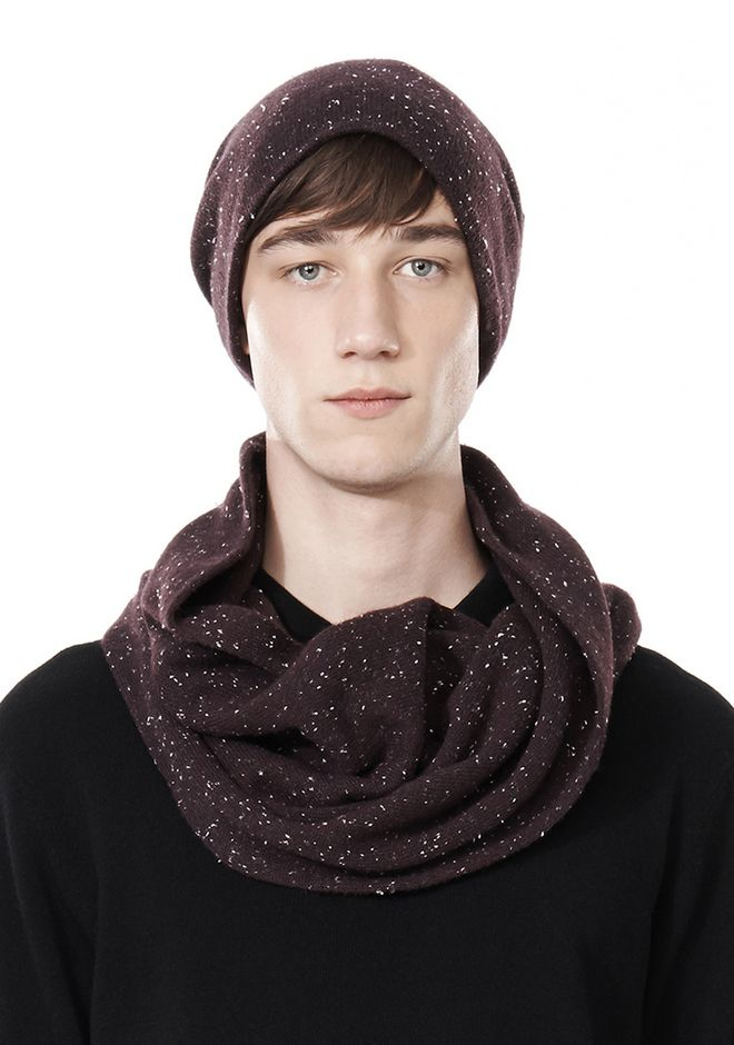 ALEXANDER WANG CASHMERE DONEGAL ENDLESS SCARF Scarf & Hat Adult 12_n_r