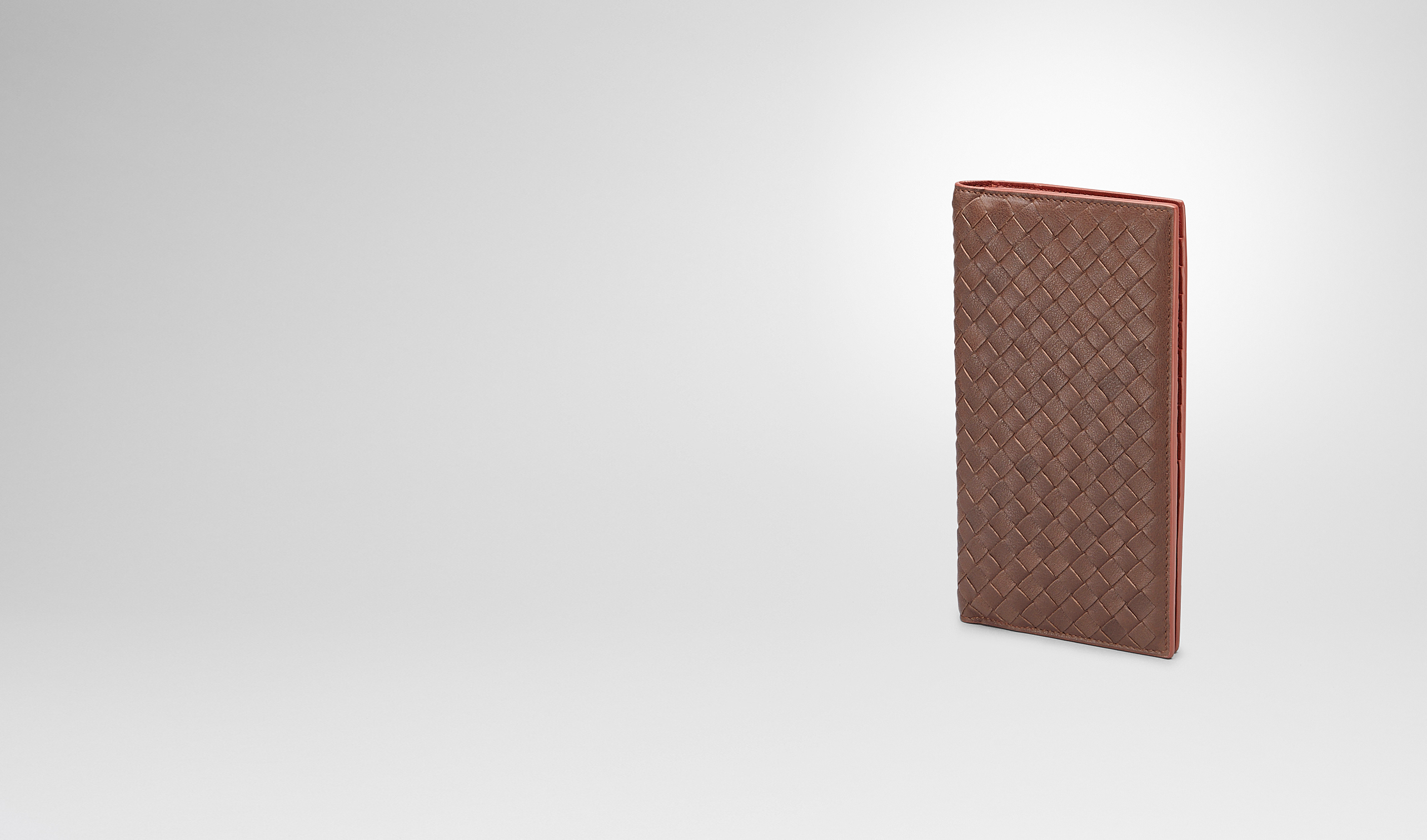 BOTTEGA VENETA Continental Wallet U Edoardo Burnt Red Intrecciato Washed Vintage Continental Wallet pl