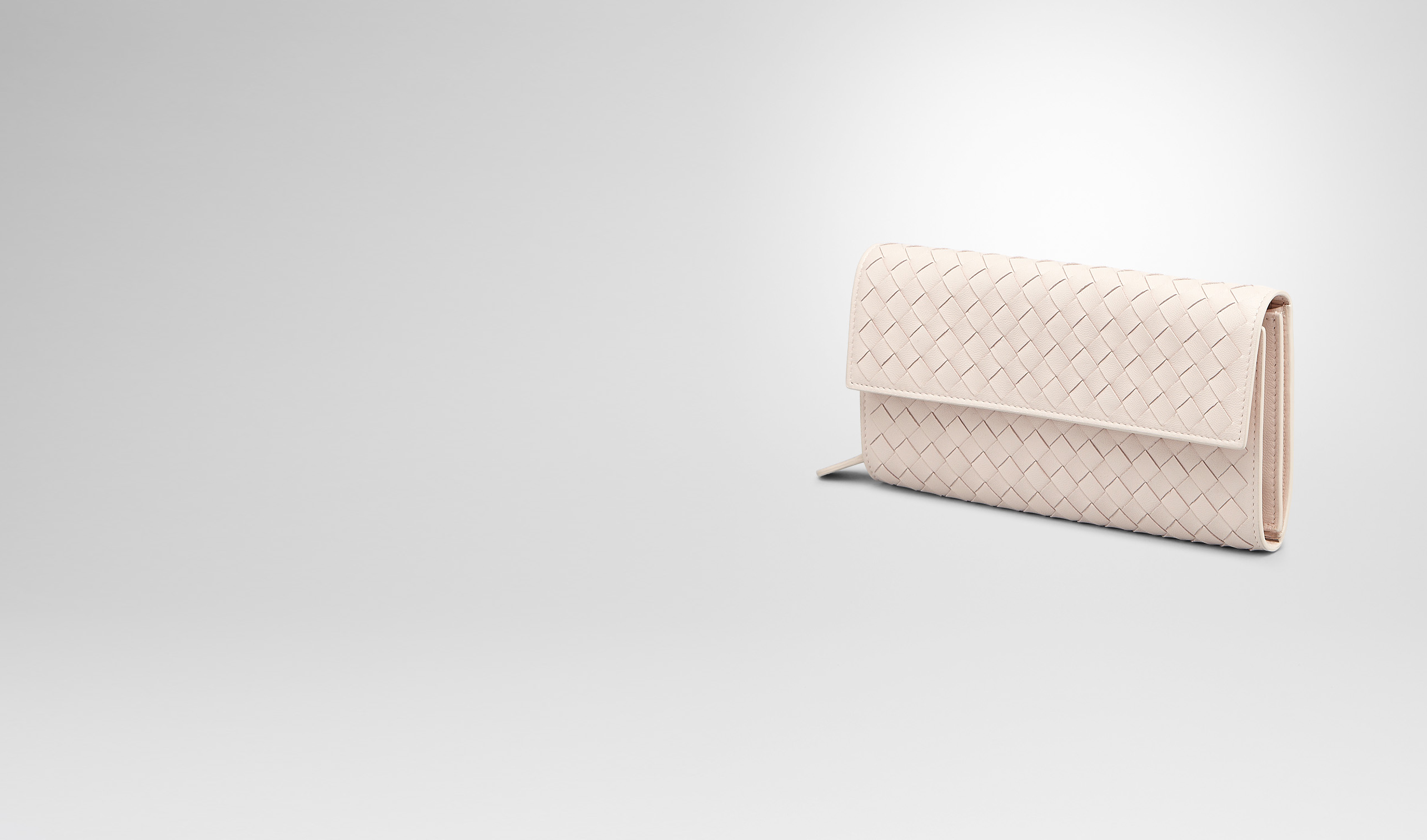 BOTTEGA VENETA Continental Wallet D PALE INTRECCIATO NAPPA CONTINENTAL WALLET pl