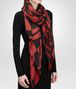 BOTTEGA VENETA SIENNA BLACK CASHMERE SILK WOOL SCARF Scarf or other D rp