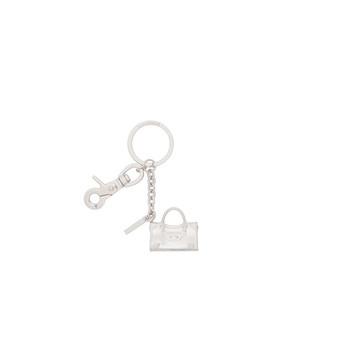 Balenciaga Silver Classic City Keyring Clasp