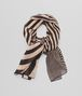 BOTTEGA VENETA WHITE BLACK CASHMERE SILK WOOL SCARF Scarf or other D fp