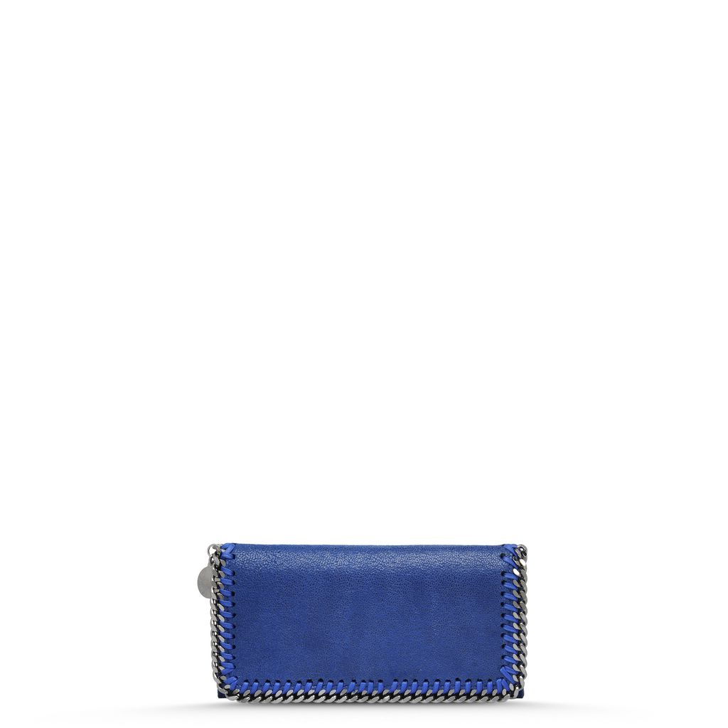 Falabella Shaggy Deer Flap Wallet - STELLA MCCARTNEY