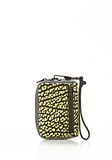 ALEXANDER WANG LARGE FUMO IN CONTRAST TIP CITRON Wallets Adult 8_n_a