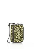 ALEXANDER WANG LARGE FUMO IN CONTRAST TIP CITRON Wallets Adult 8_n_f