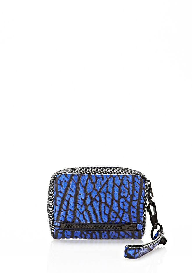 ALEXANDER WANG LARGE FUMO IN CONTRAST TIP NILE Wallets Adult 12_n_r