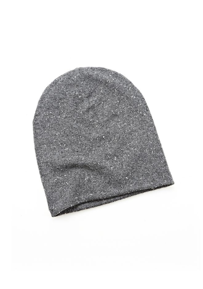 ALEXANDER WANG CASHMERE DONEGAL BEANIE Scarf & Hat Adult 12_n_f