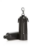 ALEXANDER WANG RUNWAY WATER BOTTLE IN EMBOSSED BLACK WITH RHODIUM SMALL LEATHER GOOD Adult 8_n_f