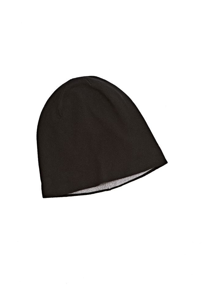 T by ALEXANDER WANG CASHMERE WOOL KNIT REVERSIBLE BEANIE Scarf & Hat Adult 12_n_r