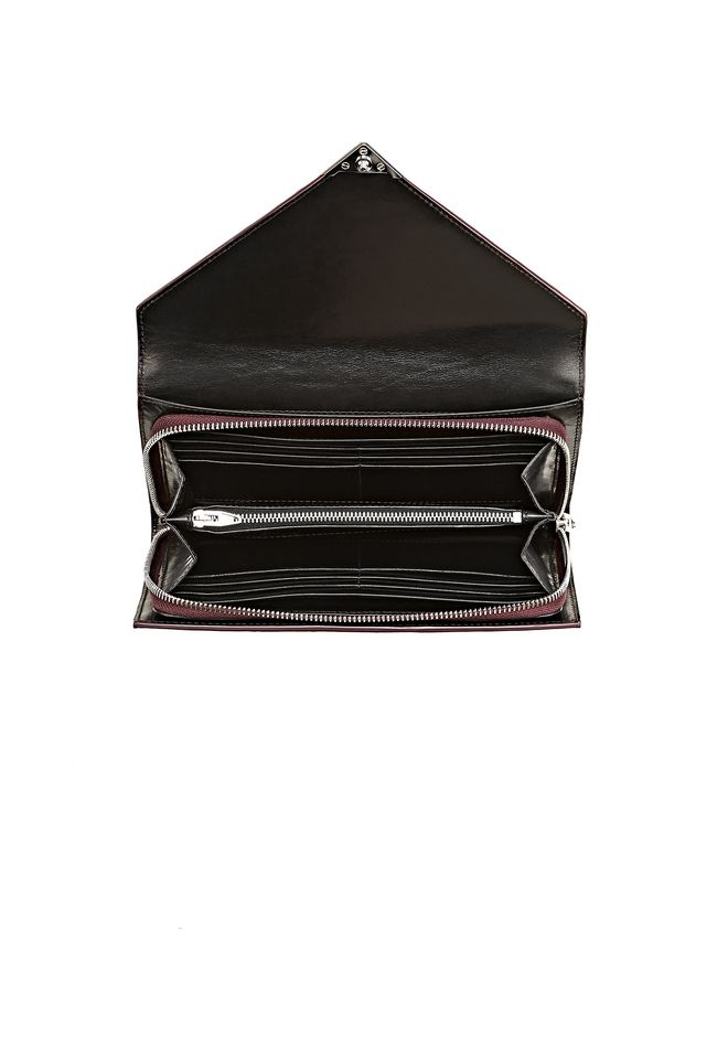 ALEXANDER WANG HEAT SENSITIVE PRISMA ENVELOPE WALLET IN SUPERNOVA Wallets Adult 12_n_d