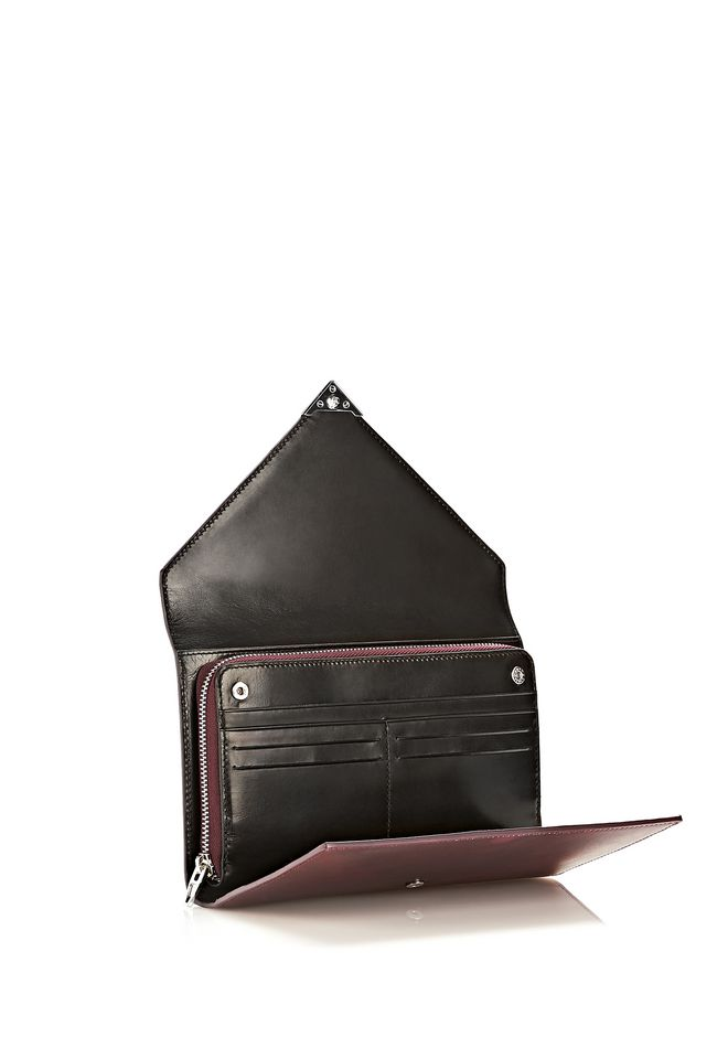 ALEXANDER WANG HEAT SENSITIVE PRISMA ENVELOPE WALLET IN SUPERNOVA Wallets Adult 12_n_e