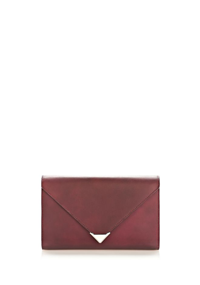 ALEXANDER WANG HEAT SENSITIVE PRISMA ENVELOPE WALLET IN SUPERNOVA Wallets Adult 12_n_f
