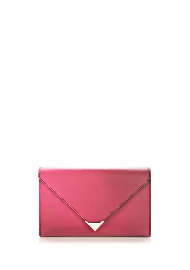 ALEXANDER WANG HEAT SENSITIVE PRISMA ENVELOPE WALLET IN SUPERNOVA Wallets Adult 12_n_r