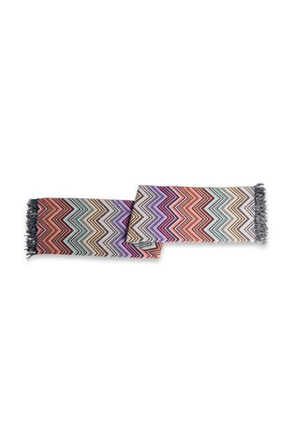 MISSONI HOME PERSEO PLAID Brique E - Devant