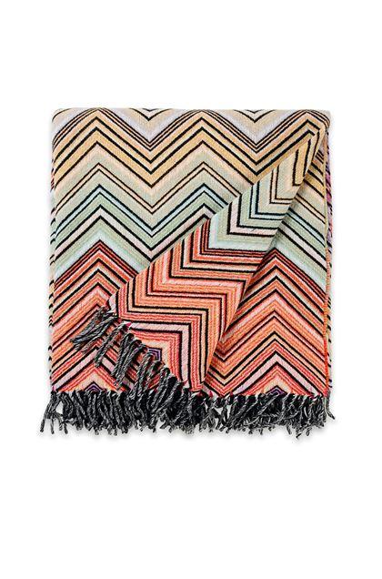 MISSONI HOME PERSEO THROW Brick red E - Back