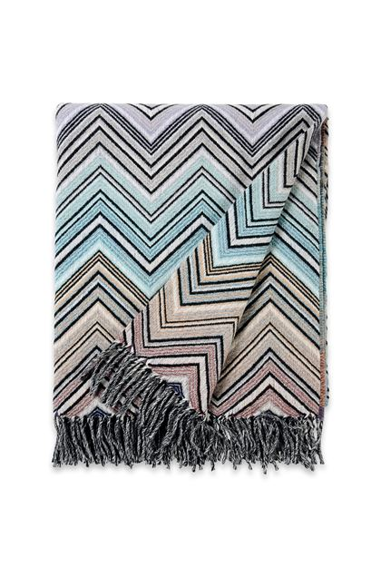 MISSONI HOME PERSEO THROW  Light green E - Back