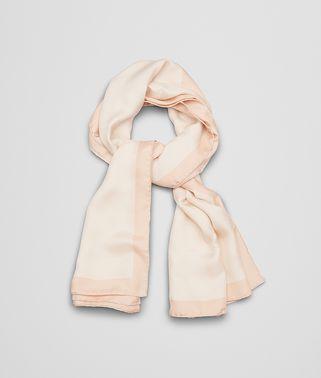 パウダー ピンク シルク スカーフ