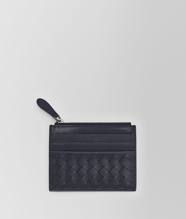 BOTTEGA VENETA CARD CASE IN TOURMALINE INTRECCIATO NAPPA Card Case [*** pickupInStoreShipping_info ***] fp