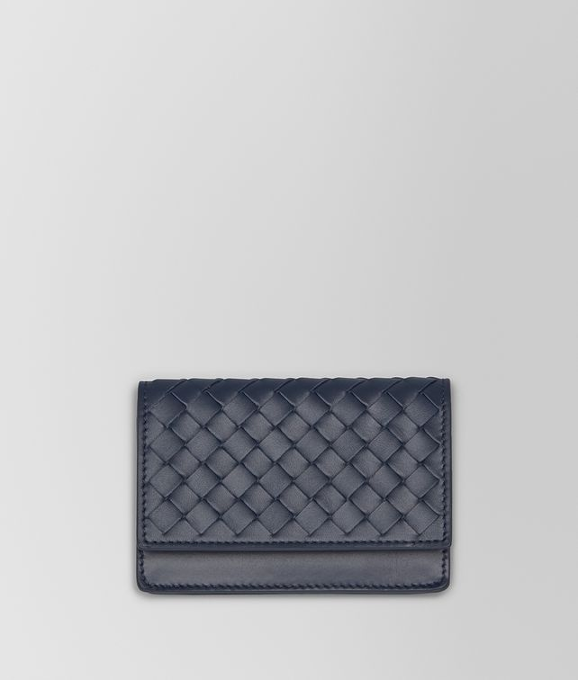 BOTTEGA VENETA CARD CASE IN LIGHT TOURMALINE INTRECCIATO VN Card Case or Coin Purse [*** pickupInStoreShippingNotGuaranteed_info ***] fp