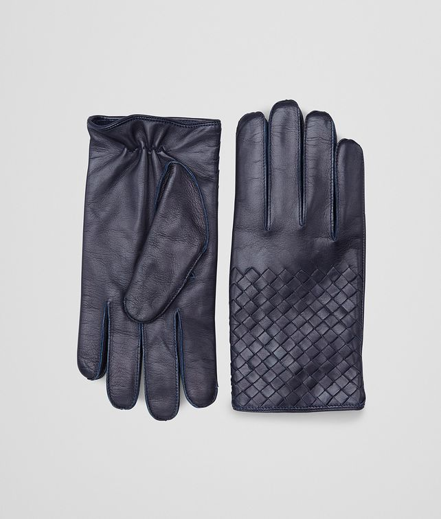 BOTTEGA VENETA GLOVES IN DARK NAVY NAPPA Hat or gloves [*** pickupInStoreShippingNotGuaranteed_info ***] fp