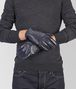 BOTTEGA VENETA GLOVES IN DARK NAVY NAPPA Hat or gloves Man rp