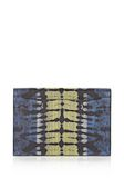 ALEXANDER WANG PRISMA SKELETAL COMPACT WALLET IN TIE DYE PLASMA AND ACID WITH MATTE BLACK  Wallets Adult 8_n_e
