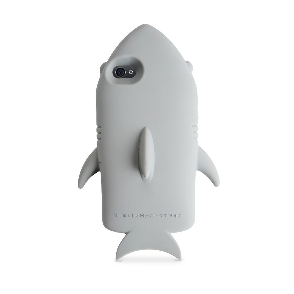 Grey Shark iPhone 5 Cover - STELLA MCCARTNEY