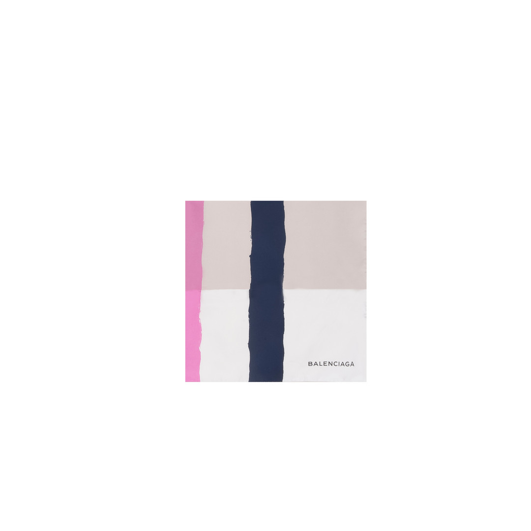 balenciaga balenciaga foulard color block foulards - Foulard Color