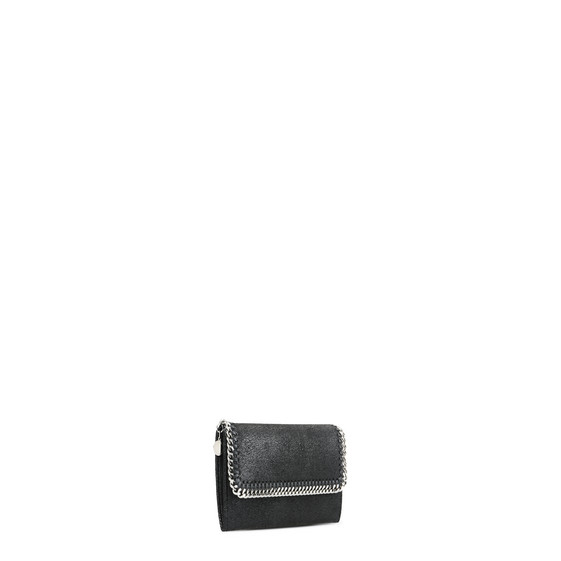 Falabella Shaggy Deer Flap Wallet
