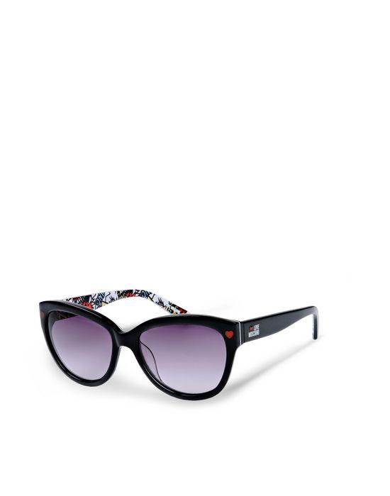 Love Moschino Sonnenbrille grau Damen Un54RG8
