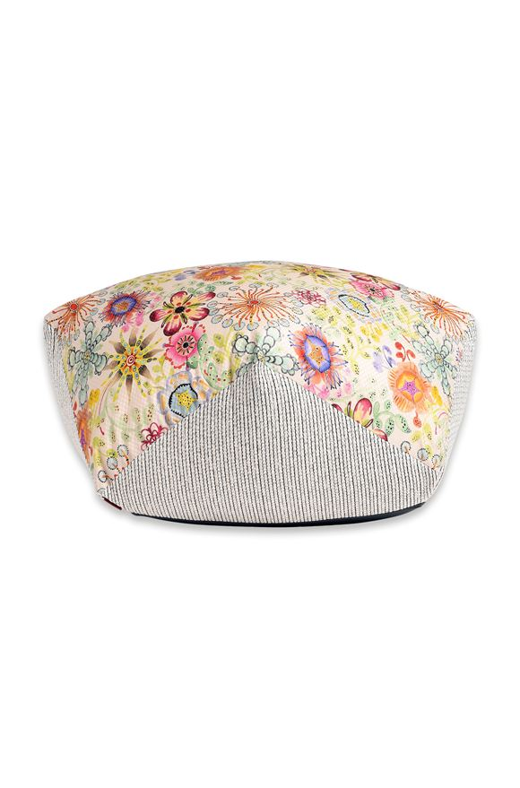 MISSONI HOME RECIFE DIAMANTE POUF E, Frontal view