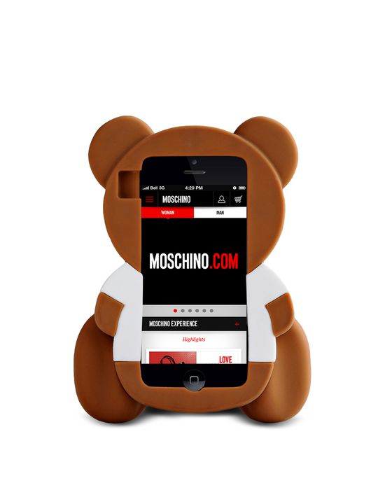custodia iphone x moschino